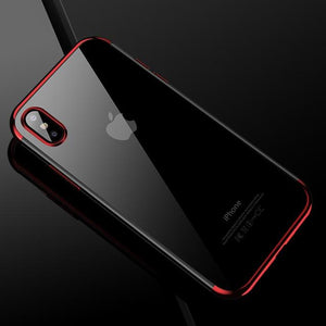 Soft Silicone Phone Case for iPhone X - Smartphone King