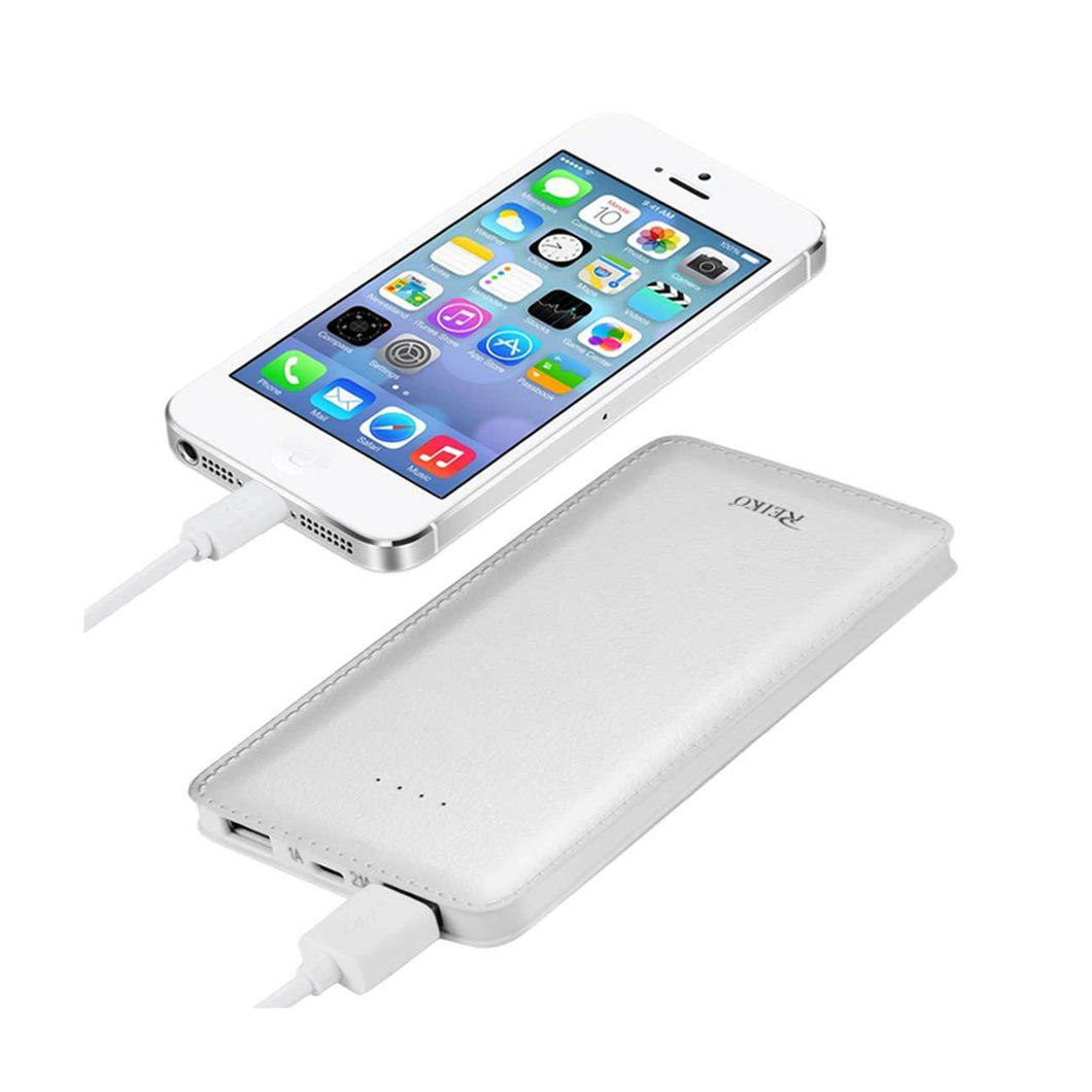 Universal Power Bank in White - 15000MAH - Smartphone King