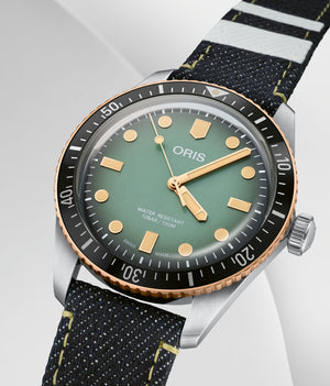 Oris Divers Sixty-Five x Momotaro Special Edition Automatic