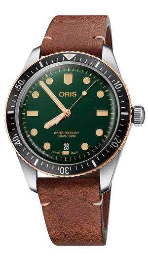 Oris Divers Sixty-Five BICO Automatic (Green Dial / 40mm)