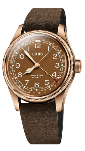 Oris Big Crown Pointer Date Bronze Automatic (Brown Dial / 40mm)