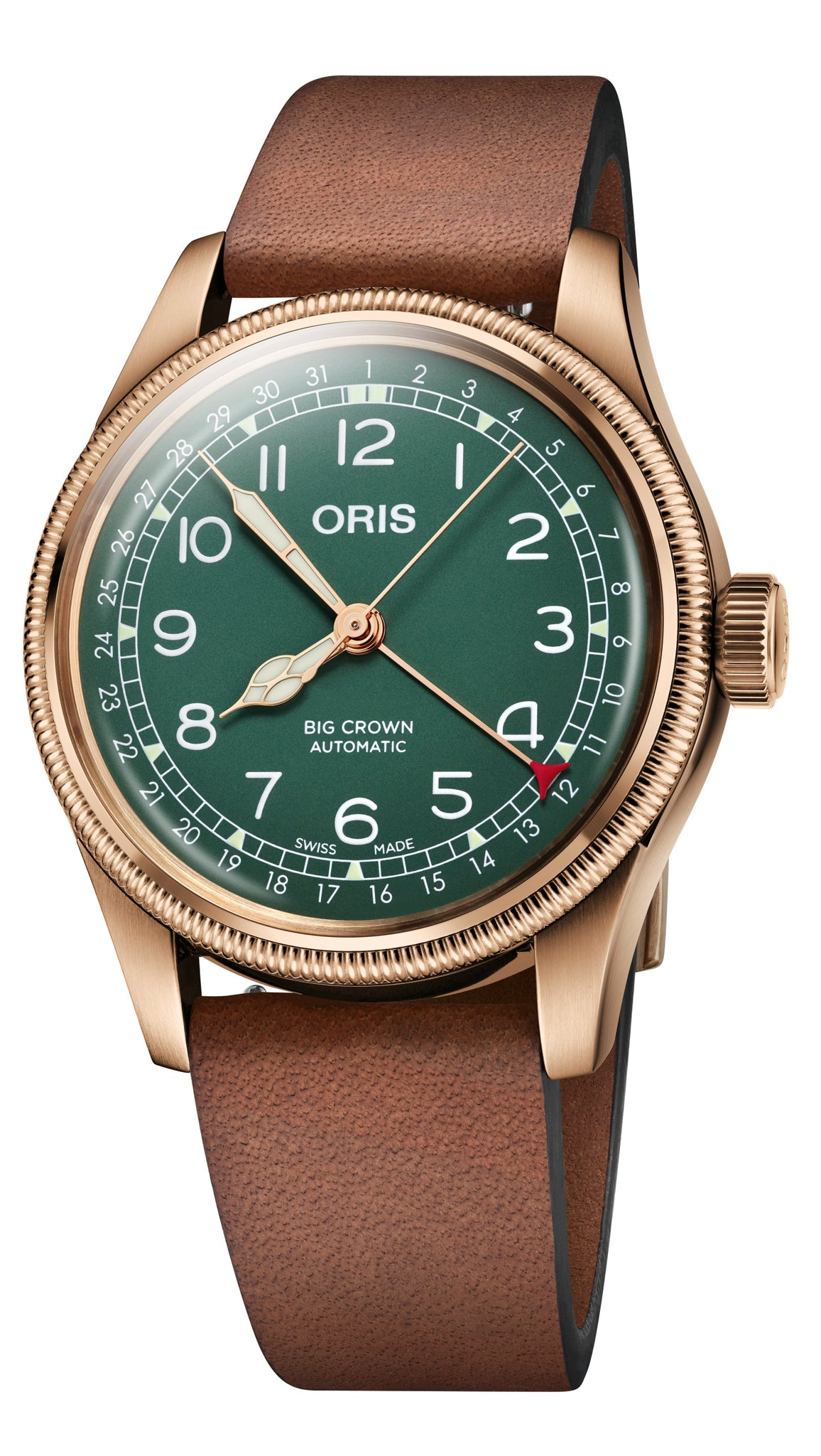 Oris Big Crown Pointer Date 80th Anniversary Automatic (Green Dial / 40mm)
