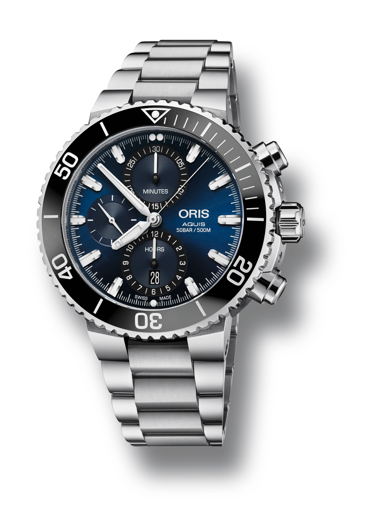 Oris Aquis Chronograph Automatic (Blue Dial / 45.5mm)
