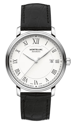 Montblanc Tradition Automatic Date (White Dial / 40mm)