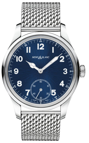 Montblanc 1858 Manual Small Second (Blue Dial / 44mm)