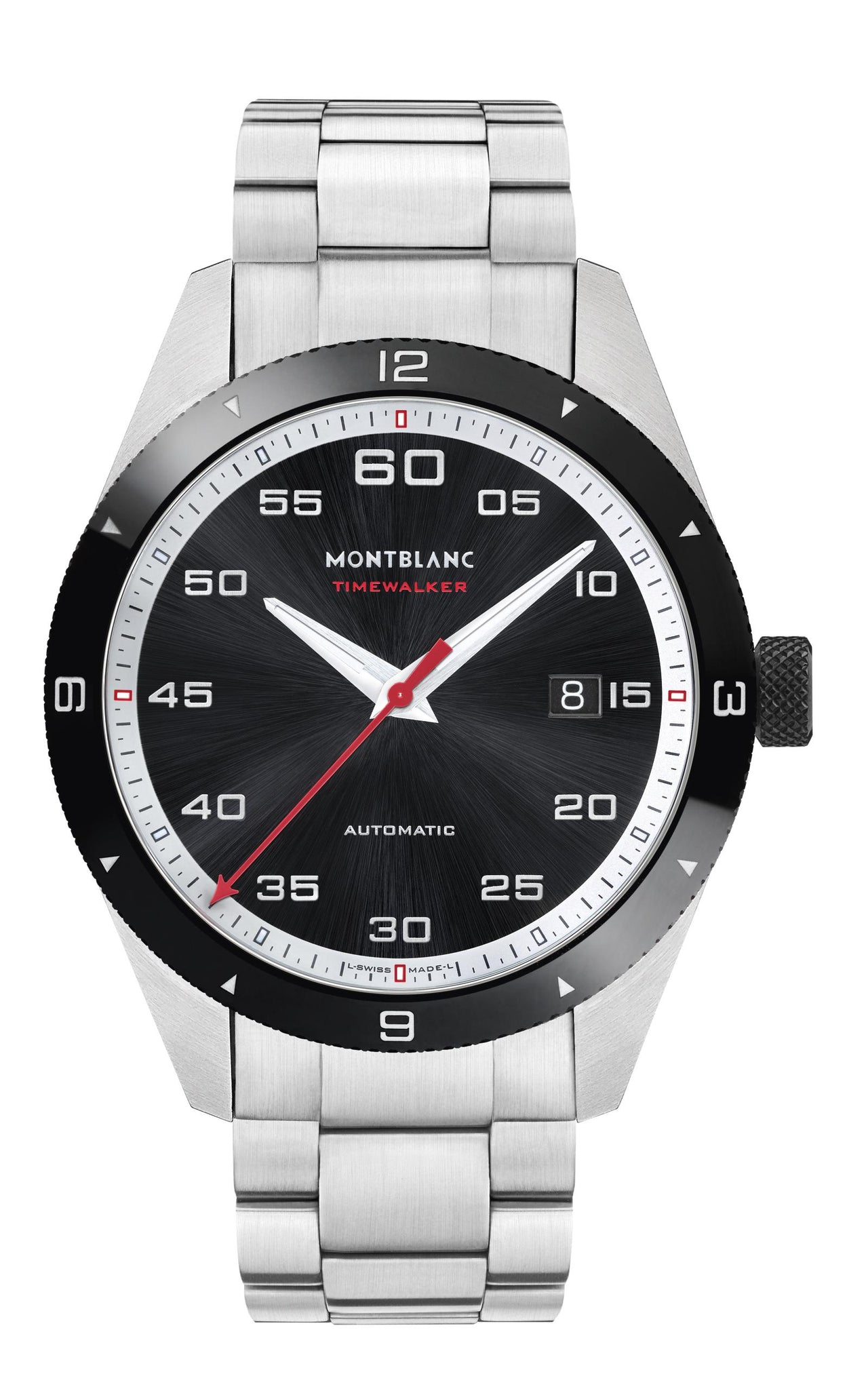 Montblanc Timewalker Automatic Date (Black Dial / 41mm)