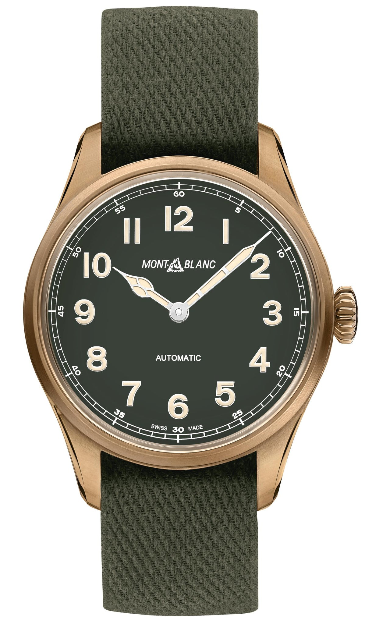 Montblanc 1858 Automatic (Green Dial / 40mm)