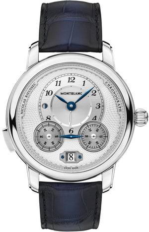 Montblanc Star Legacy Nicolas Rieussec Chronograph (Silver Dial / 45mm)