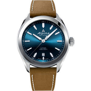 Alpina Alpiner Quartz (Blue Dial / 42mm)