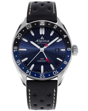 Alpina Alpiner Quartz GMT (Blue Dial / 42mm)