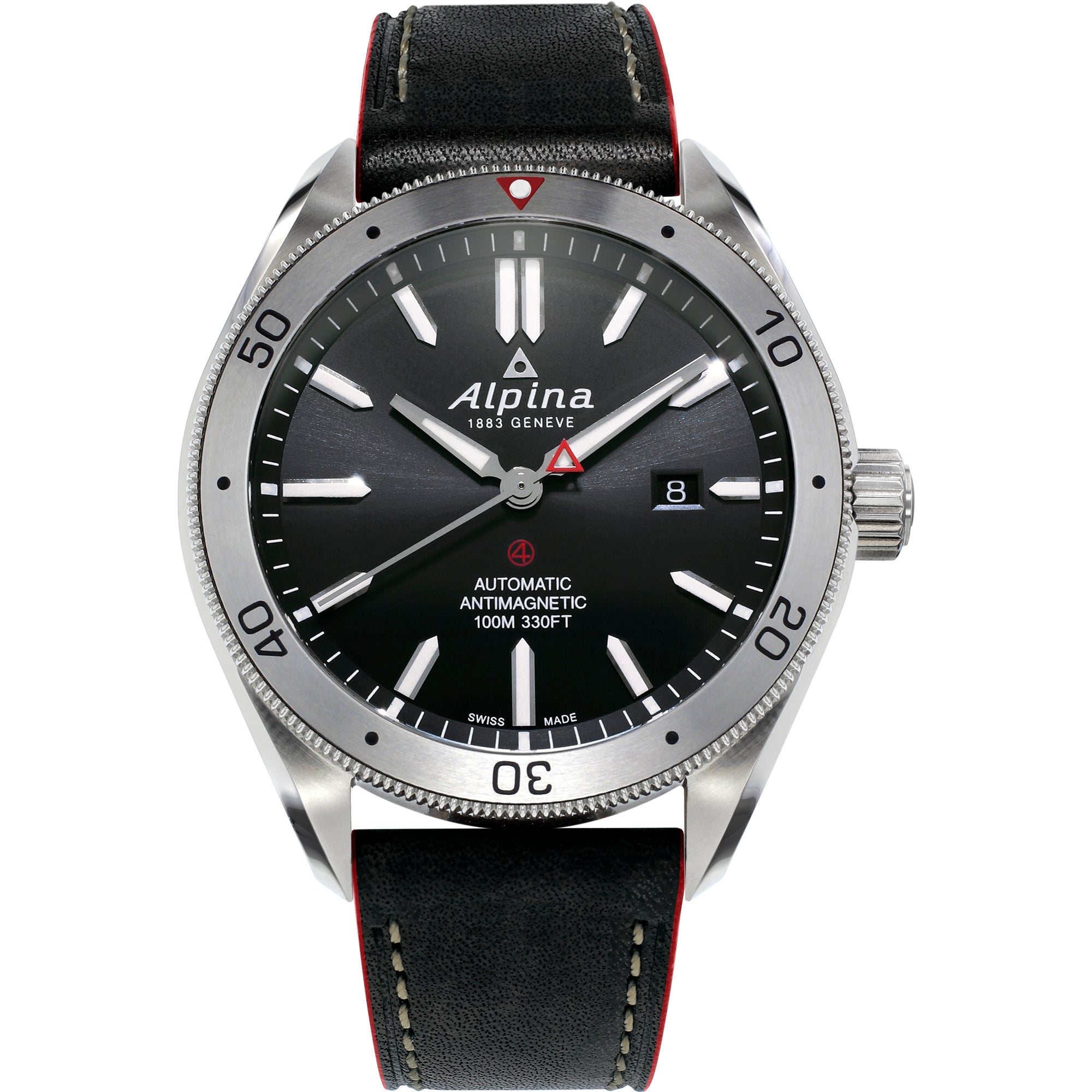 Alpina Alpiner 4 Automatic (Black Dial / 44mm)