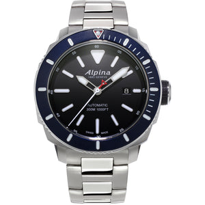 Alpina Seastrong Diver 300 Automatic (Black Dial / 44mm)
