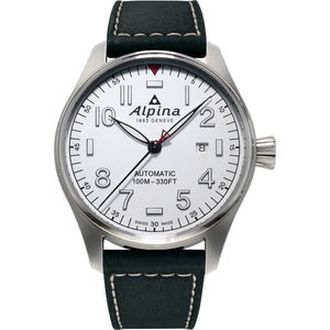 Alpina Startimer Pilot Automatic (White Dial / 44mm)