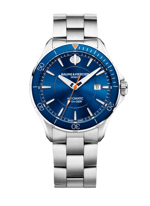Baume Et Mercier Clifton Club Automatic (Blue Dial / 42mm)