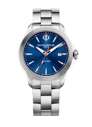 Baume Et Mercier Clifton Club Quartz (Blue Dial / 42mm)