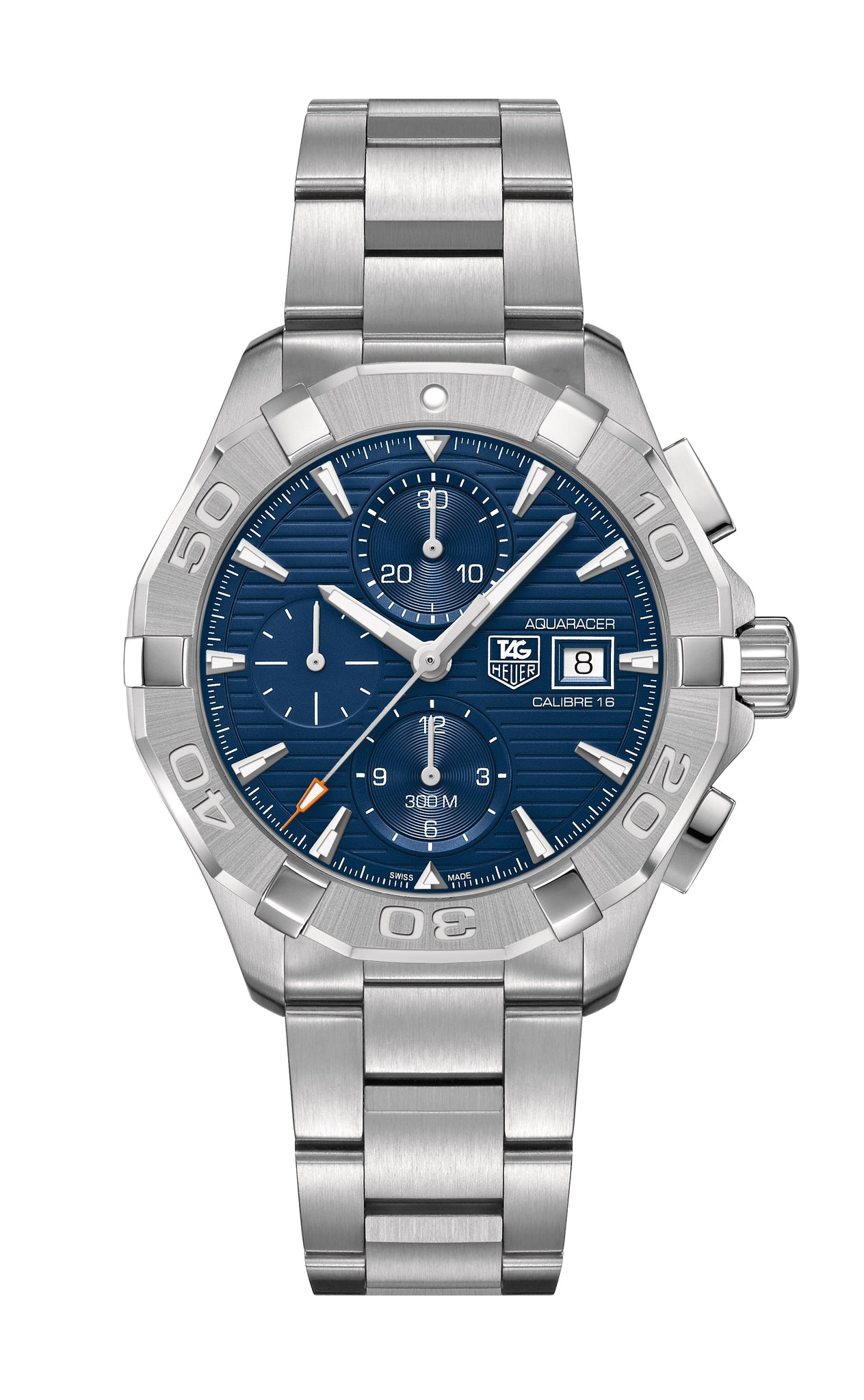TAG Heuer Aquaracer Automatic Chronograph (Blue Dial / 43mm)