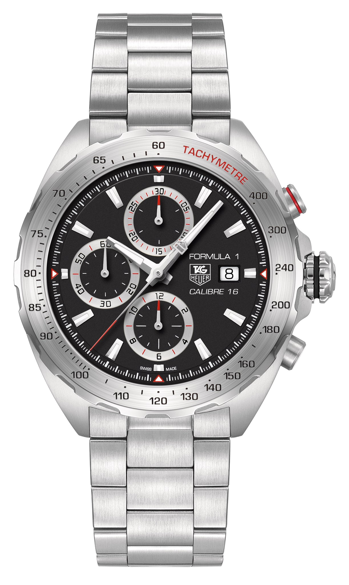 TAG Heuer Formula 1 Automatic Chronograph (Black Dial / 44mm)