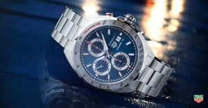 TAG Heuer Formula 1 Automatic Chronograph (Blue Dial / 44mm)