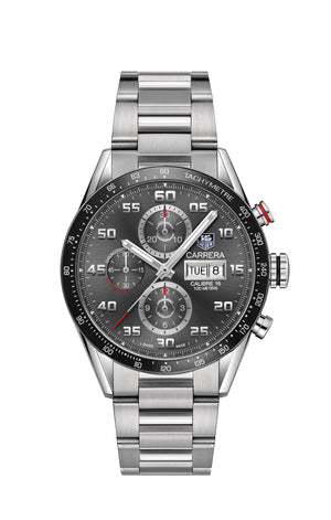TAG Heuer Carrera Calibre 16 Automatic Chronograph (Anthracite Dial / 43mm)