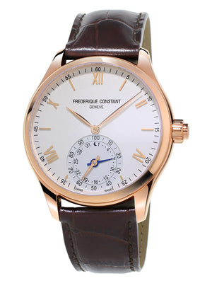 Frederique Constant Horological Smartwatch (Silver Dial / 42mm / RGP)