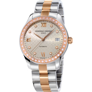 Frederique Constant Classics Ladies Automatic (Grey Dial / 36mm / Bracelet)