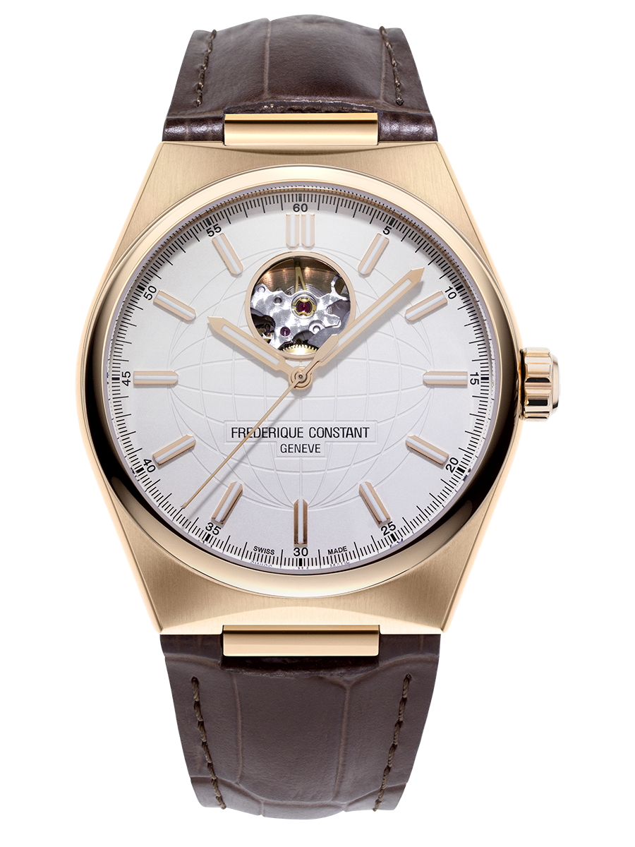 Frederique Constant Highlife Heart Beat Automatic (White Dial / 41mm)