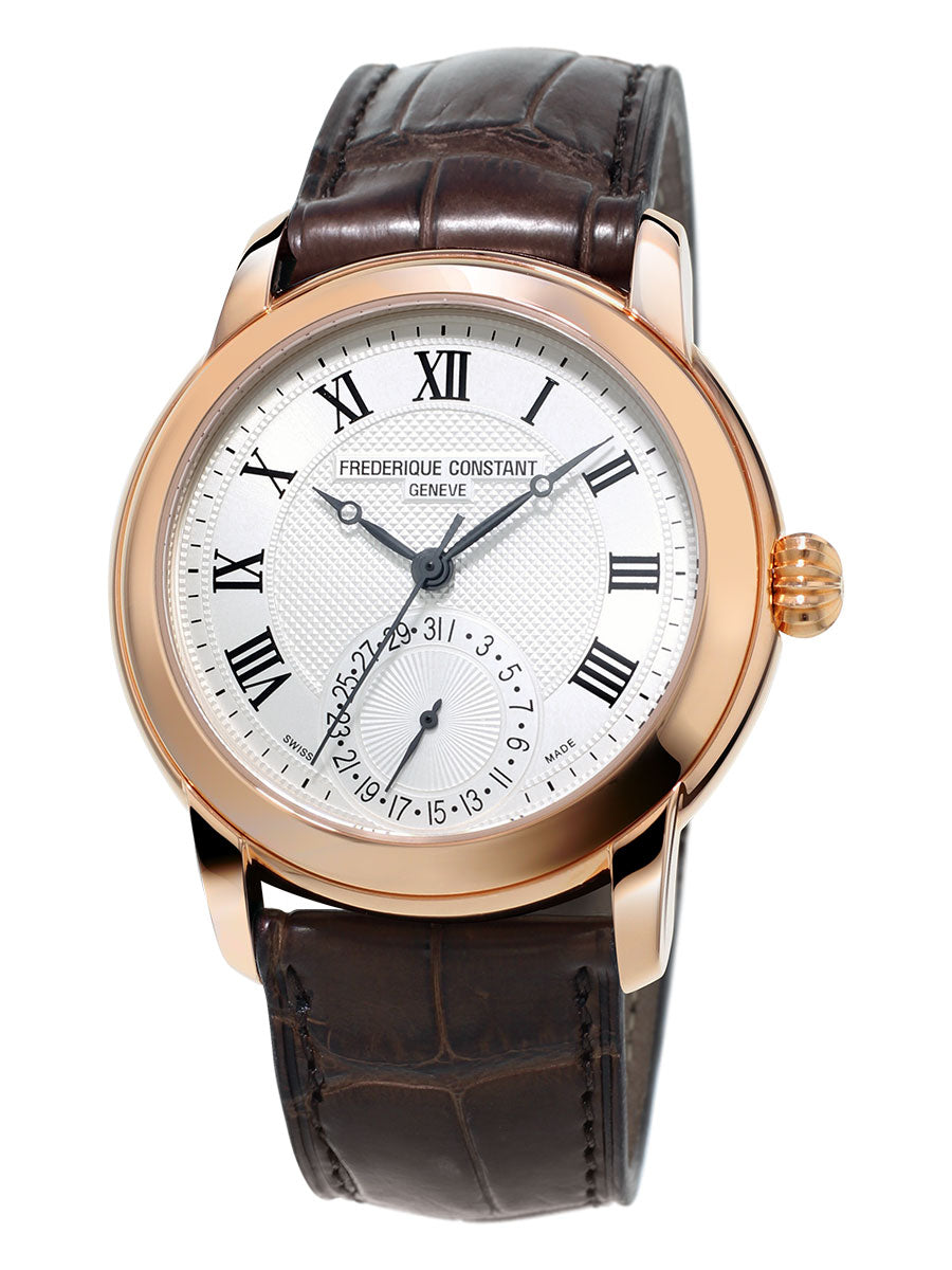 Frederique Constant Classic Manufacture Automatic (Silver Dial / 42mm / RGP)