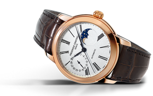 Frederique Constant Classic Moonphase Manufacture Automatic (Silver Dial / 42mm / RGP)