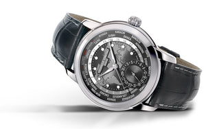 Frederique Constant Classic Worldtimer Manufacture Automatic (Grey Dial / 42mm)