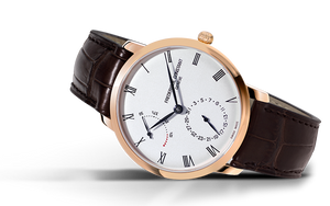 Frederique Constant Slimline Power Reserve Manufacture Automatic (Silver Dial / 40mm / RGP)