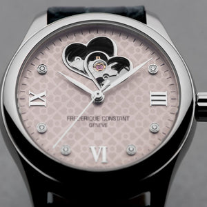Frederique Constant Ladies Double Heart Beat Automatic (Grey Dial / 36mm)