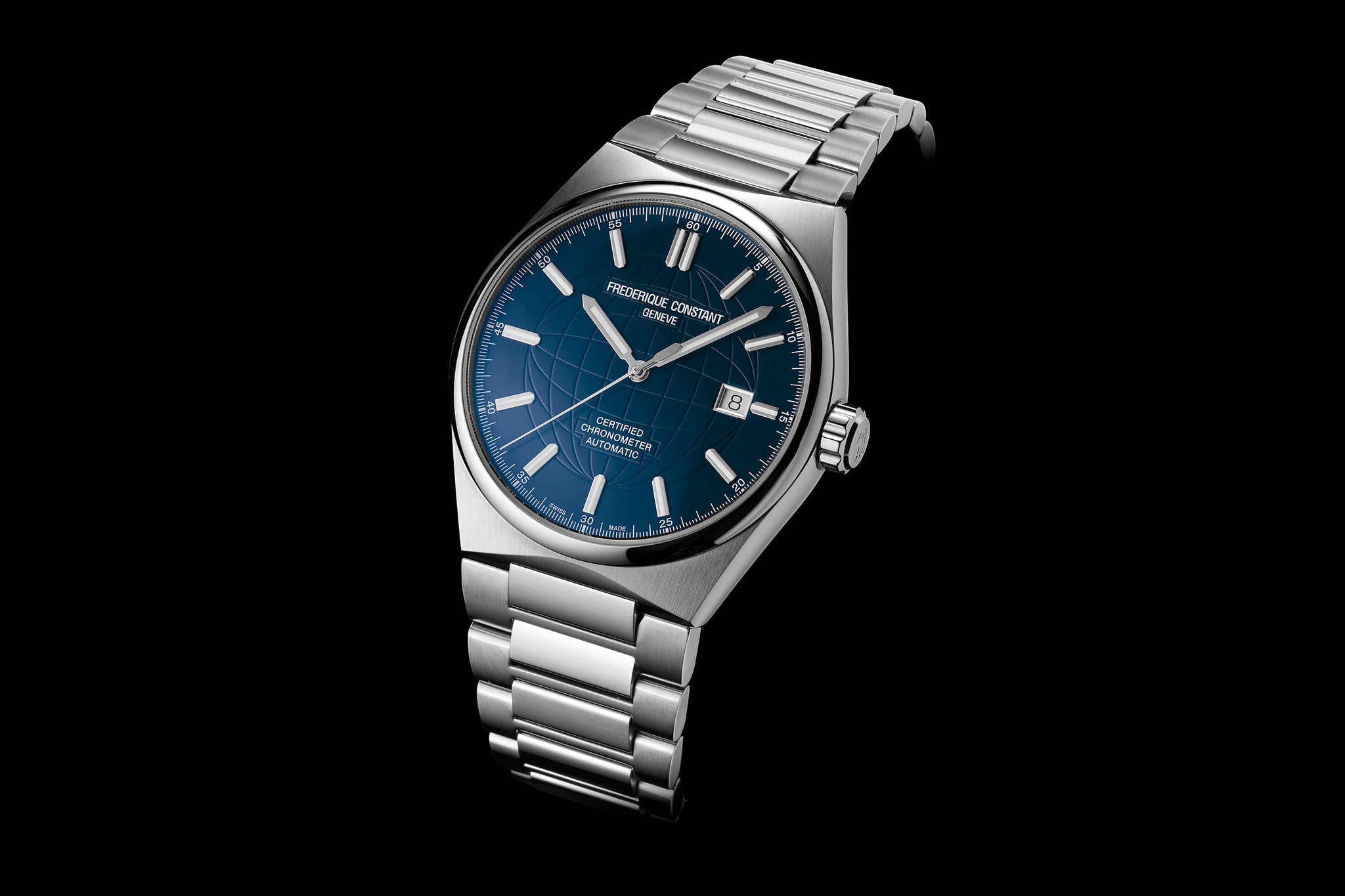Frederique Constant Highlife Automatic COSC (Blue Dial / 41mm)