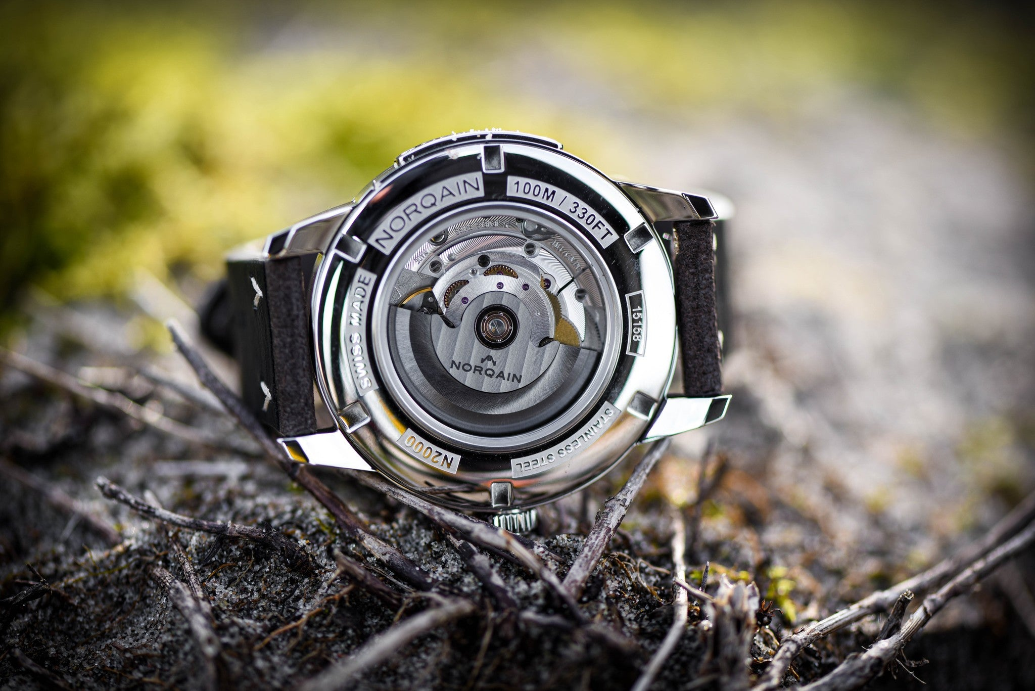 Norqain Freedom 60 Auto (Black Dial / 42mm)