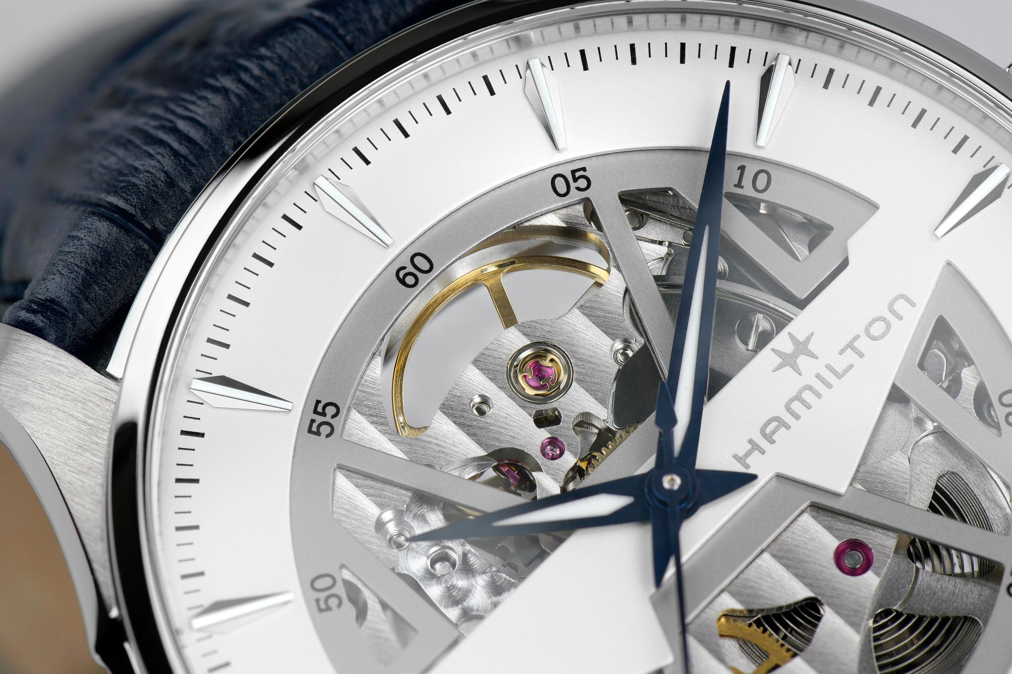 Hamilton Jazzmaster Skeleton Auto (White Skeleton Dial / 40mm)