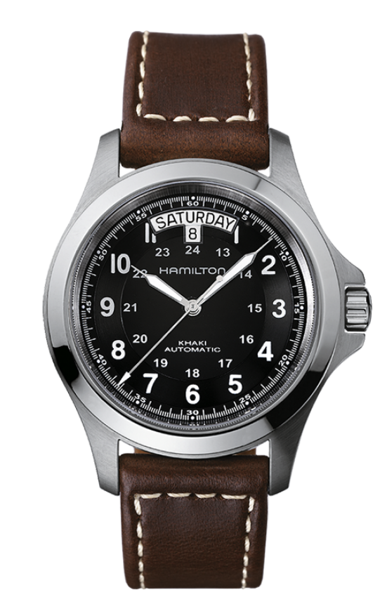 Hamilton Khaki Field King Auto (Black Dial / 40mm)