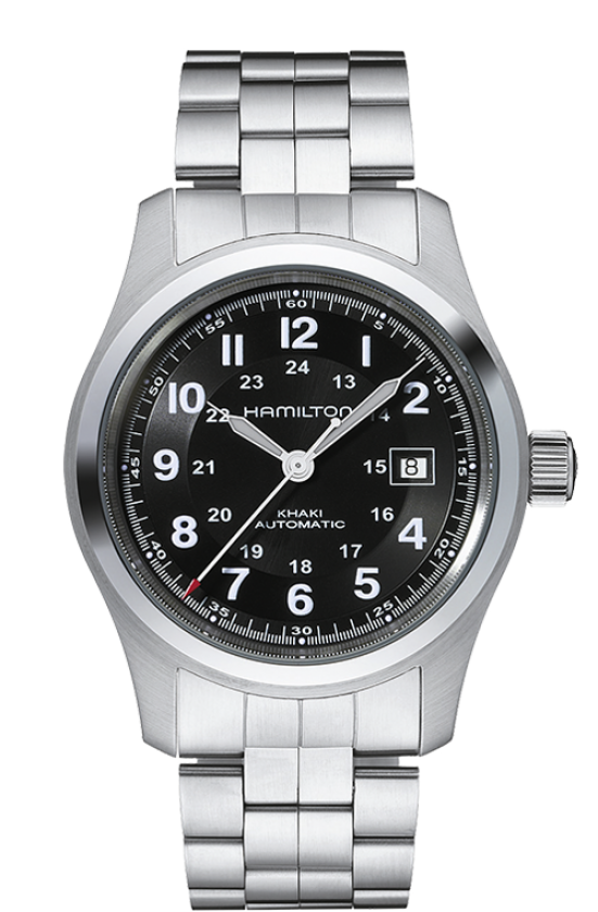 Hamilton Khaki Field Auto (Black Dial / 42mm / Steel)