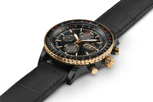 Hamilton Khaki Aviation Converter Auto Chrono (Black Dial / 44mm / Black Case)