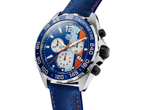 TAG Heuer Formula 1 Gulf Edition Quartz Chronograph (Blue Dial / 43mm)