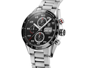 TAG Heuer Carrera Calibre 16 Automatic Chronograph (Black Dial / 43mm)