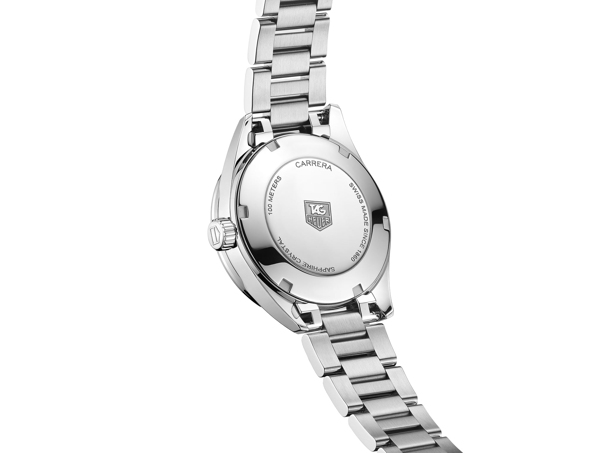 TAG Heuer Carrera Ladies Quartz (White Diamond Dial / 32mm)