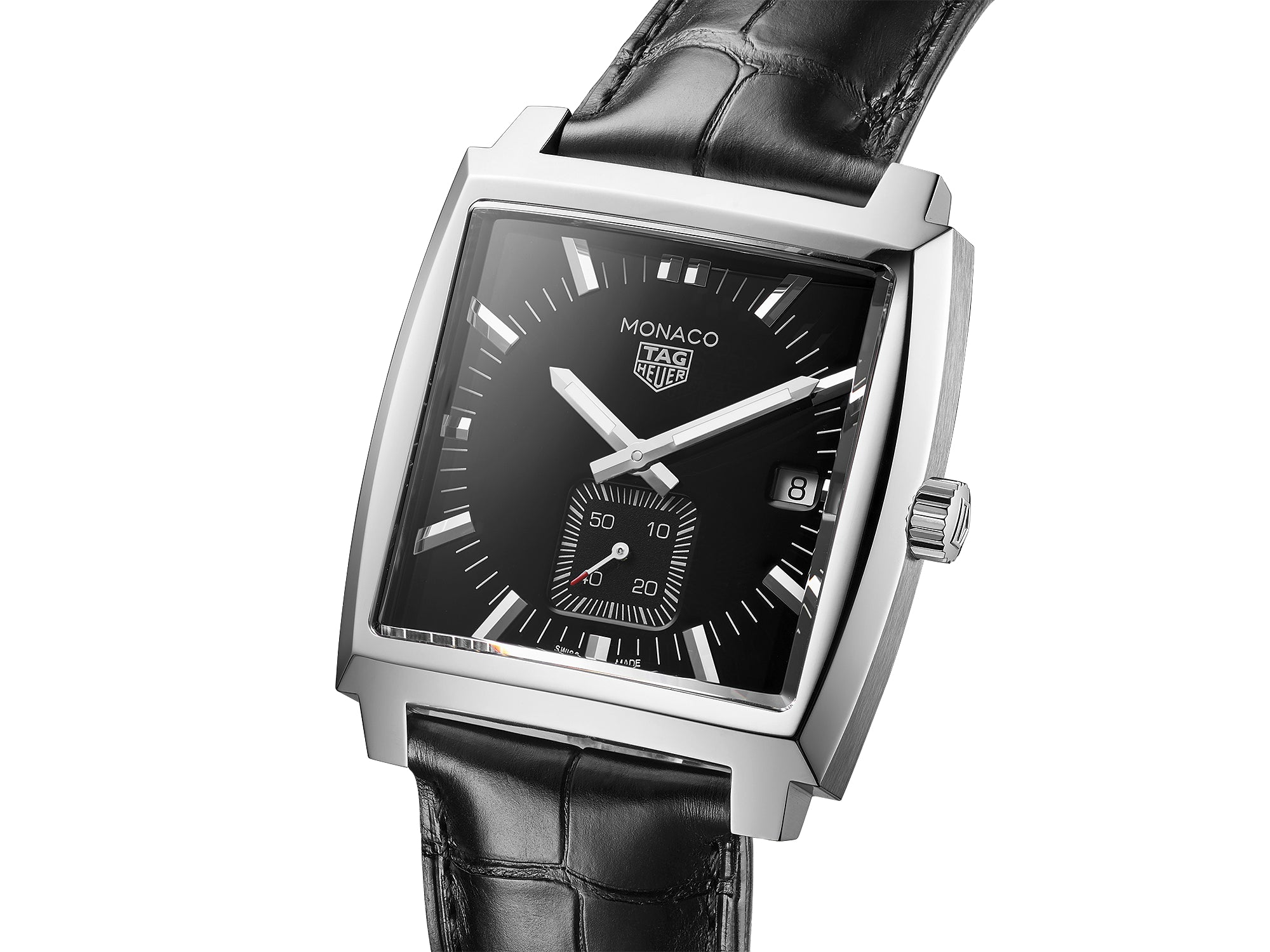 TAG Heuer Monaco Quartz (Black Dial / 37mm)