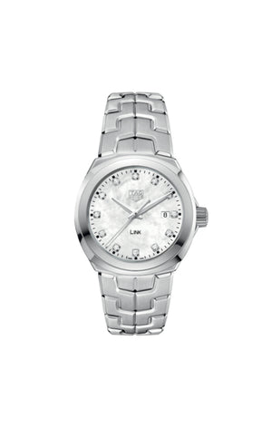 TAG Heuer Link Lady Quartz (White Diamond Dial / 32mm)