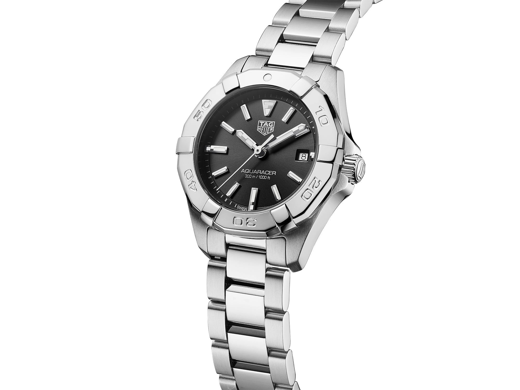 TAG Heuer Aquaracer Quartz (Black Dial / 32mm)