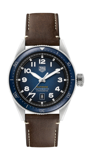 TAG Heuer Autavia Automatic (Blue Dial / 42mm)