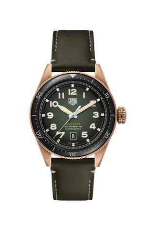 TAG Heuer Autavia Automatic (Green Dial / 42mm)