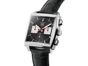 TAG Heuer Monaco Heuer 02 Automatic Chronograph (Black Dial / 39mm)