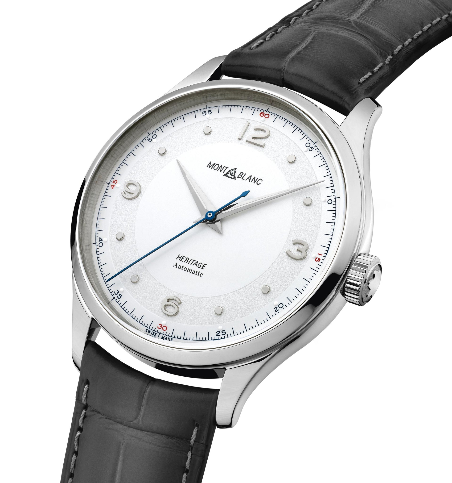 Montblanc Heritage Automatic (Silver Dial / 40mm)