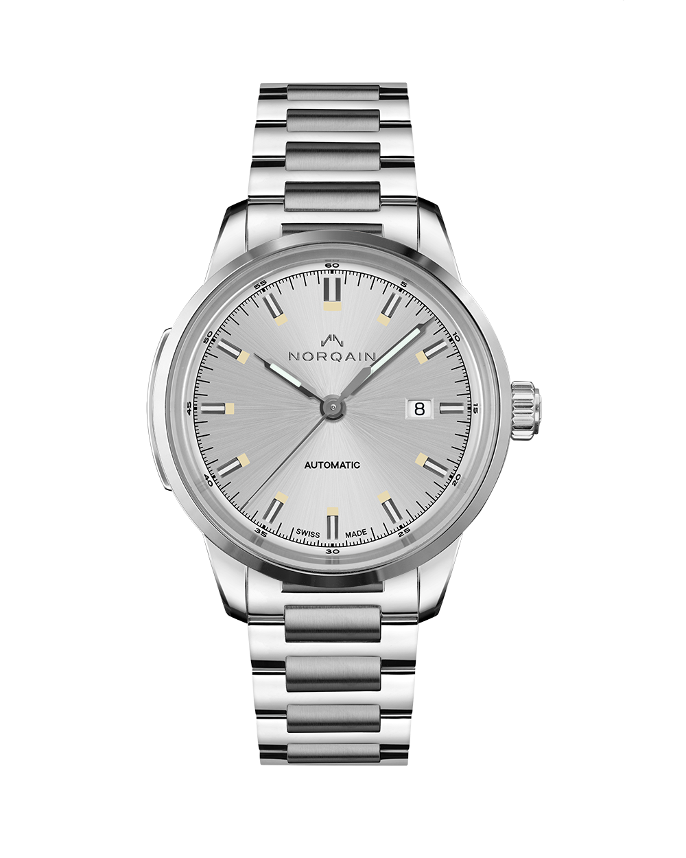 Norqain Freedom 60 Auto (Silver Dial / 42mm)