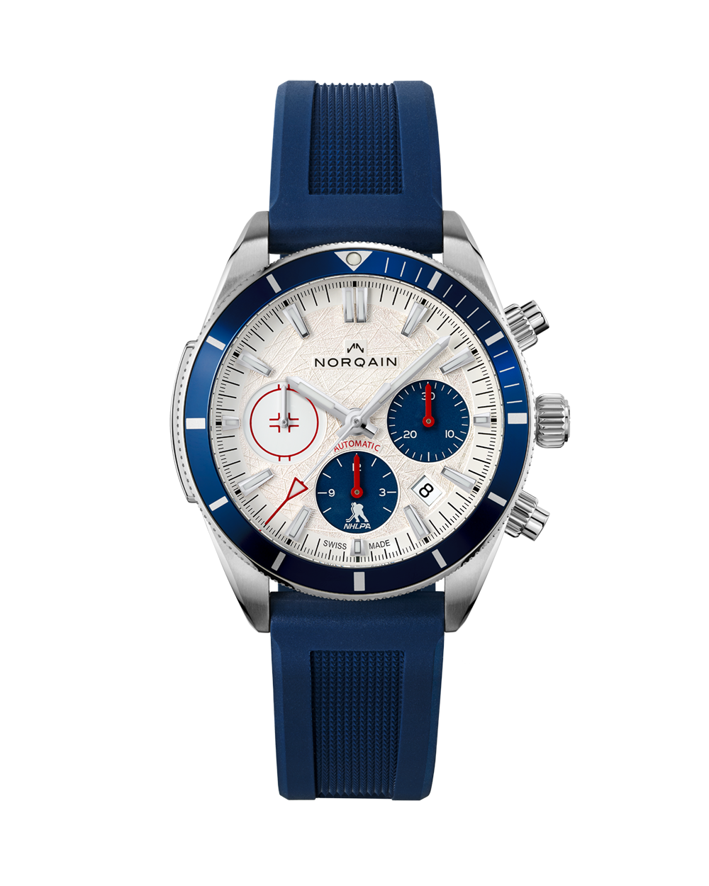 Norqain Adventure Sport Chrono NHLPA Limited Edition Auto (White Dial / 41mm)
