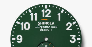 Shinola The Runwell Quartz (Green Dial / 41mm)